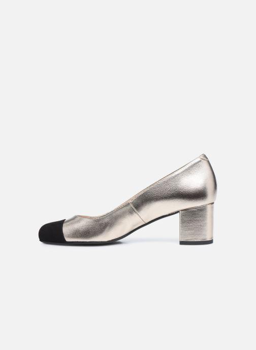 Zapatos de tacón Georgia Rose Selly Oro y bronce vista de frente