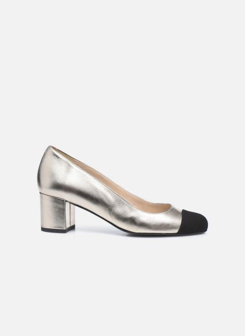 Zapatos de tacón Georgia Rose Selly Oro y bronce vistra trasera