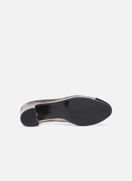 Zapatos de tacón Georgia Rose Selly Oro y bronce vista de arriba