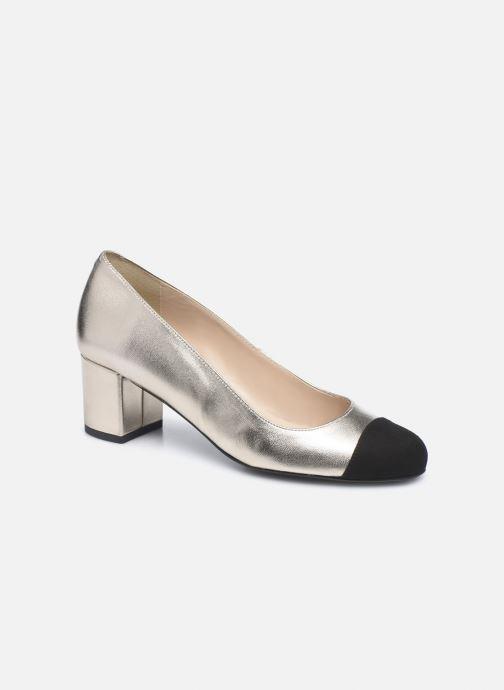 Zapatos de tacón Georgia Rose Selly Oro y bronce vista de detalle / par