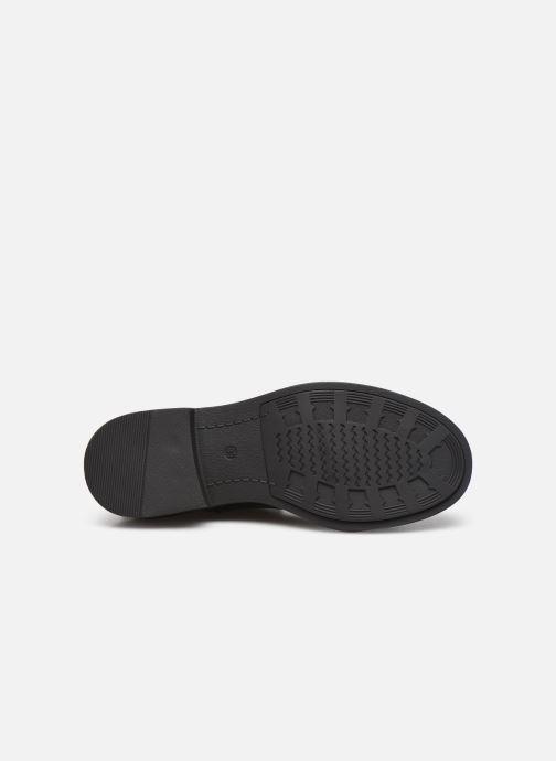 Bottines et boots Chattawak BUFFALA Noir vue haut