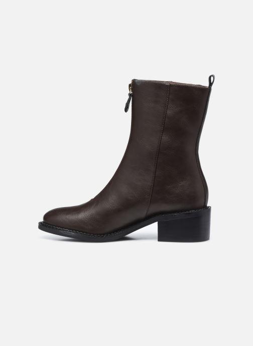Bottines et boots Chattawak CITY Marron vue face