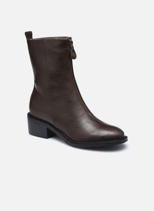 Bottines et boots Chattawak CITY Marron vue détail/paire