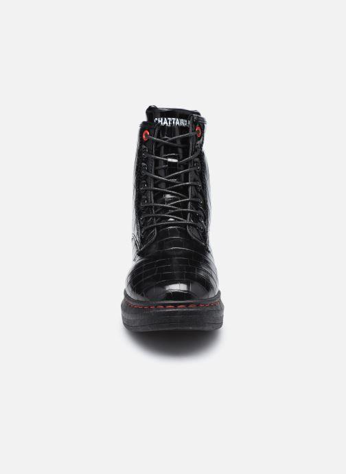 Bottines et boots Chattawak HONOLULU Noir vue portées chaussures