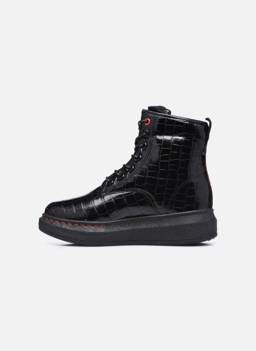 Bottines et boots Chattawak HONOLULU Noir vue face