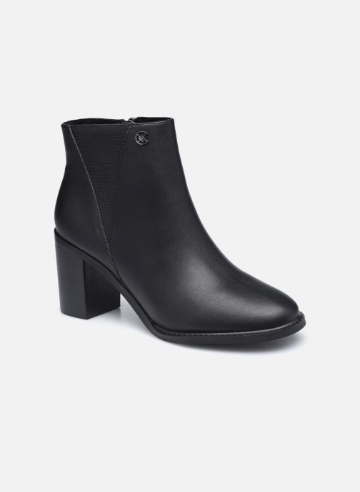 Boots en enkellaarsjes Chattawak MORENO Zwart detail