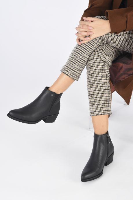 Bottines et boots Chattawak RIVERSIDE Noir vue bas / vue portée sac
