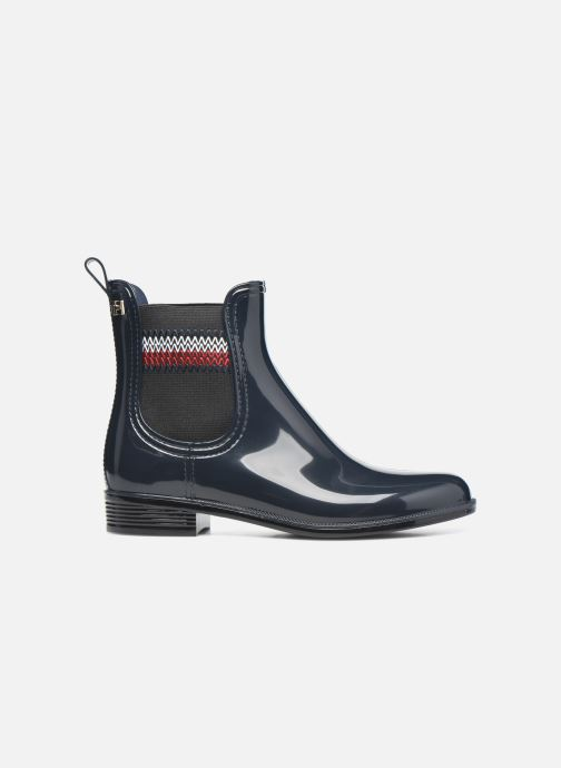 Botines  Tommy Hilfiger CORPORATE ELASTIC RAINBOOT Azul vistra trasera
