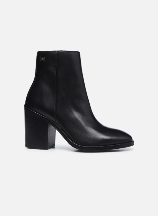 Botines  Tommy Hilfiger SHADED LEATHER HIGH HEEL BOOT Negro vistra trasera