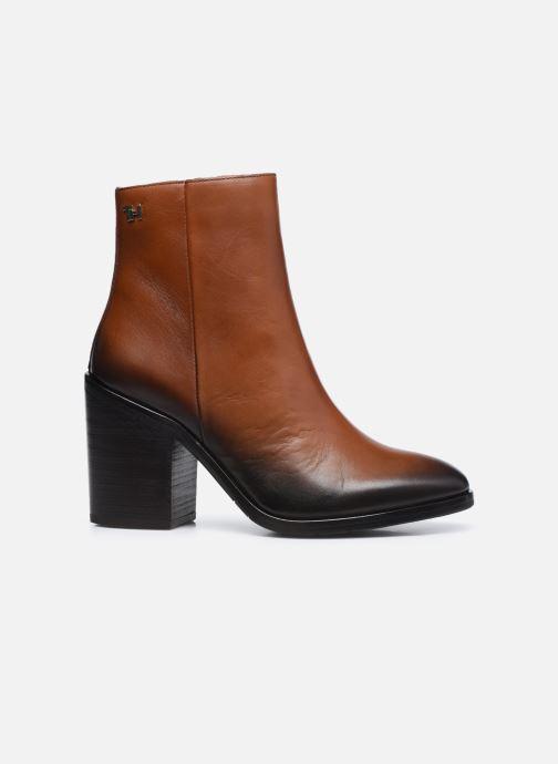 Boots en enkellaarsjes Tommy Hilfiger SHADED LEATHER HIGH HEEL BOOT Bruin achterkant