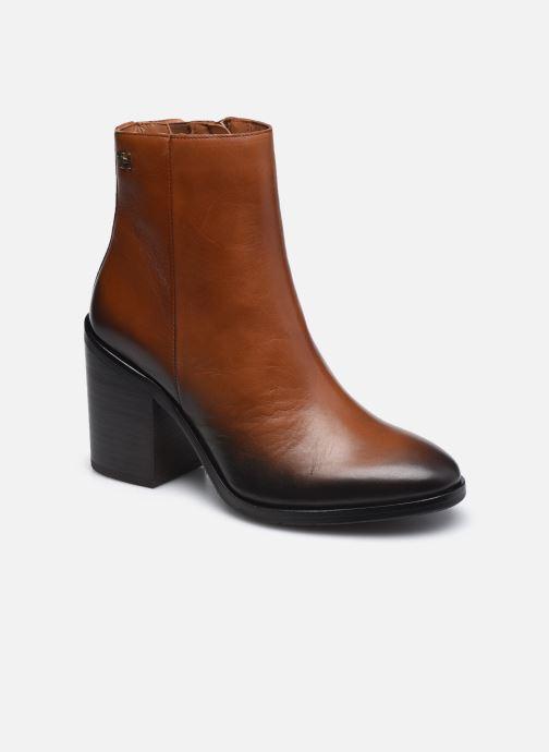 Boots en enkellaarsjes Tommy Hilfiger SHADED LEATHER HIGH HEEL BOOT Bruin detail