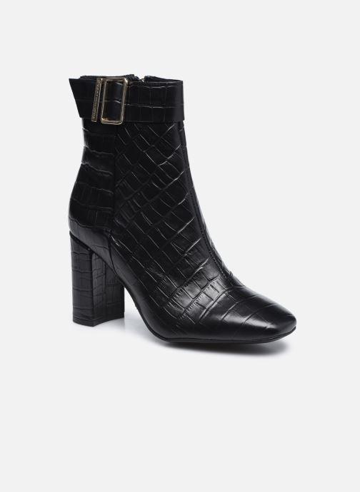 Boots en enkellaarsjes Tommy Hilfiger CROCO LOOK HIGH HEEL BOOT Zwart detail