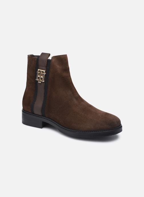 TH INTERLOCK SUEDE FLAT BOOT