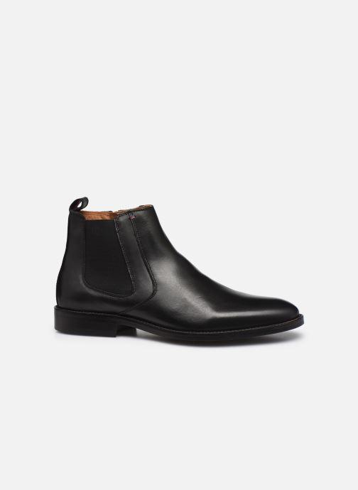 Bottines et boots Tommy Hilfiger ESSENTIAL LEATHER CHELSEA Noir vue derrière