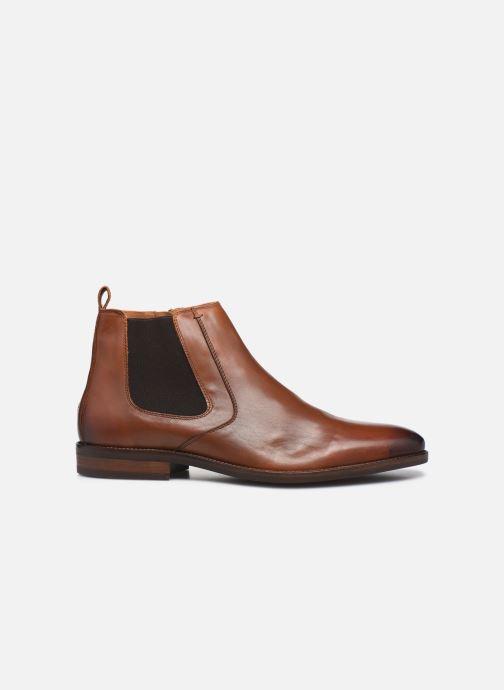 Stiefeletten & Boots Tommy Hilfiger ESSENTIAL LEATHER CHELSEA braun ansicht von hinten
