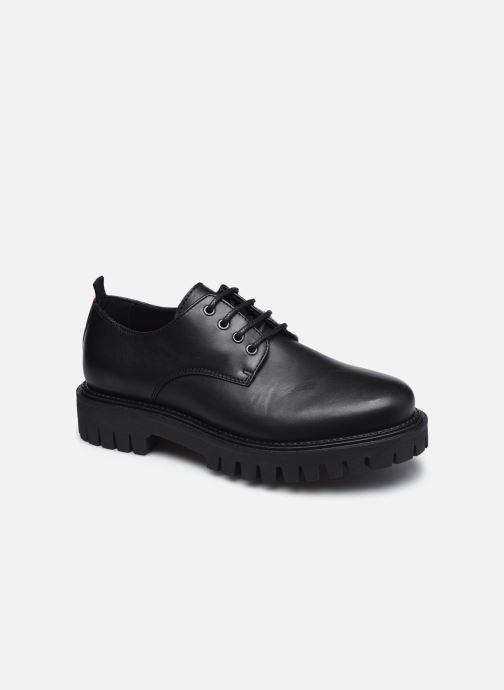 Zapatos con cordones Tommy Hilfiger CASUAL CHUNKY DRESS SHOE Negro vista de detalle / par