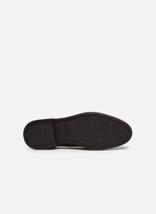 Zapatos con cordones Tommy Hilfiger ELEVATED LEATHER MIX SHOE Marrón vista de arriba