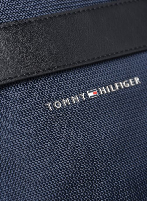Sacs homme Tommy Hilfiger ELEVATED NYLON MINI CROSSOVER 90% RECYCLED Bleu vue gauche