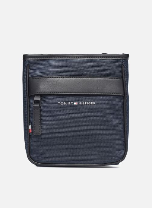 Sacs homme Tommy Hilfiger ELEVATED NYLON MINI CROSSOVER 90% RECYCLED Bleu vue détail/paire