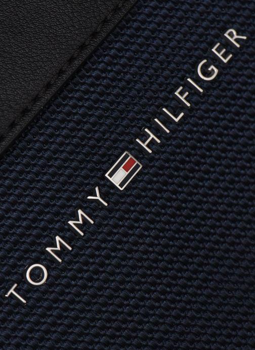 Mochilas Tommy Hilfiger ELEVATED NYLON MINI REPORTER 80% RECYCLED Azul vista lateral izquierda