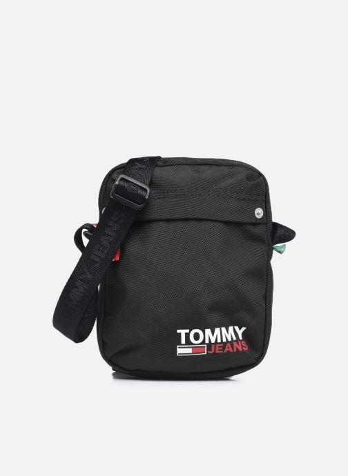 Bolsos de hombre Tommy Hilfiger TJM CAMPUS BOY REPORTER 100% RECYCLED Negro vista de detalle / par