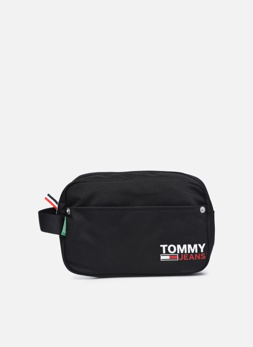 Equipaje  Tommy Hilfiger TJM WASHBAG 100% RECYCLED Negro vista de detalle / par