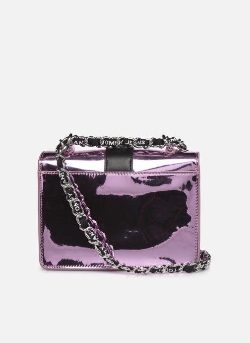 Handtaschen Tommy Hilfiger TJW ITEM CROSSOVER METALLIC rosa ansicht von vorne