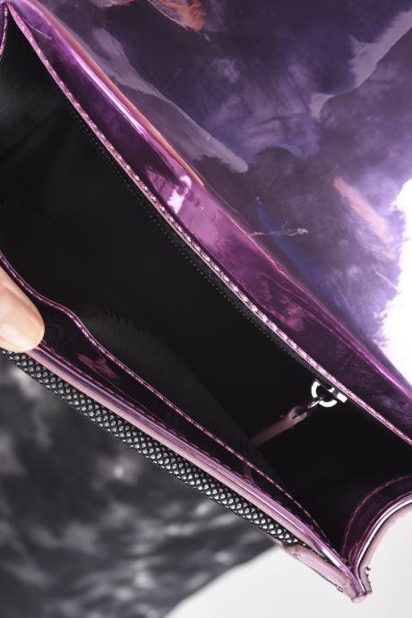 Handtaschen Tommy Hilfiger TJW ITEM CROSSOVER METALLIC rosa ansicht von hinten