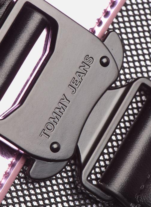 Handtaschen Tommy Hilfiger TJW ITEM CROSSOVER METALLIC rosa ansicht von links