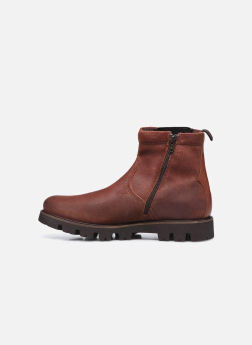 Bottines et boots Base London SPUR Marron vue face