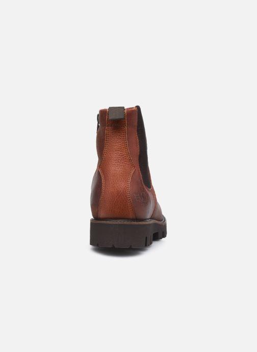 Bottines et boots Base London SPUR Marron vue droite