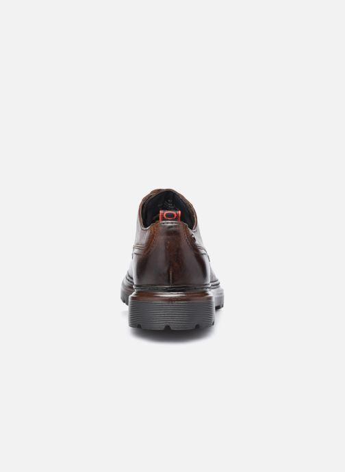 Chaussures à lacets Base London RENE Marron vue droite