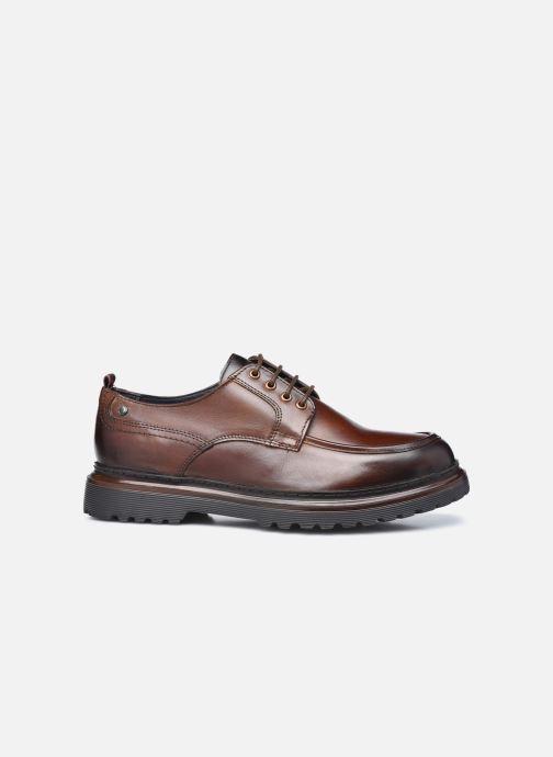 Chaussures à lacets Base London RENE Marron vue derrière
