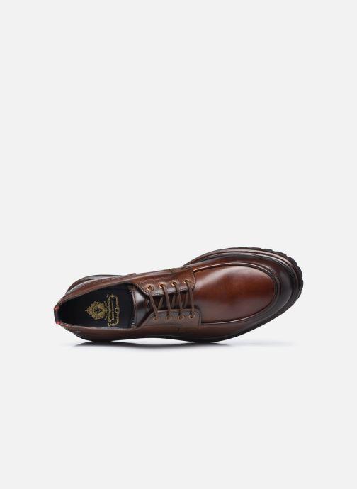 Chaussures à lacets Base London RENE Marron vue gauche