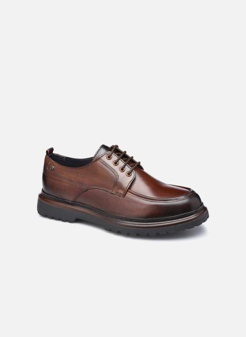 Chaussures à lacets Base London RENE Marron vue détail/paire