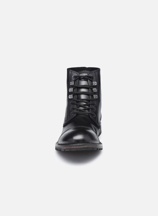Stiefeletten & Boots Base London TRAVIS schwarz schuhe getragen