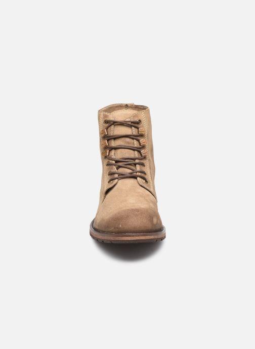 Stiefeletten & Boots Base London TRAVIS braun schuhe getragen