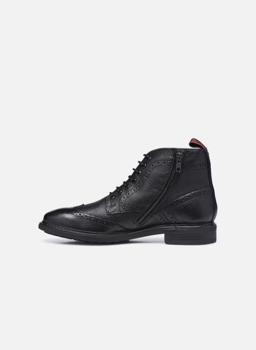 Boots en enkellaarsjes Base London BERKLEY Zwart voorkant