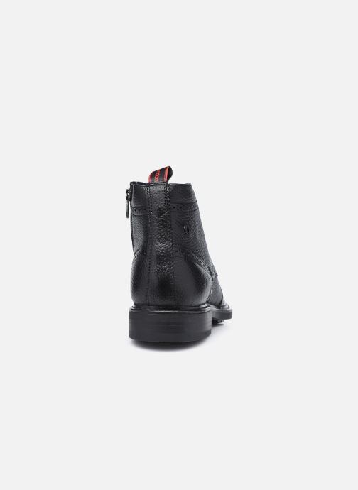Boots en enkellaarsjes Base London BERKLEY Zwart rechts