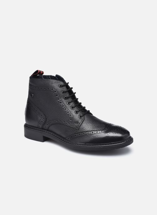 Boots en enkellaarsjes Base London BERKLEY Zwart detail