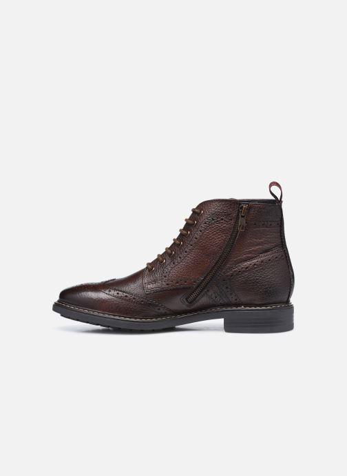 Boots en enkellaarsjes Base London BERKLEY Bruin voorkant