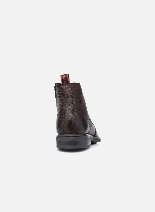 Boots en enkellaarsjes Base London BERKLEY Bruin rechts
