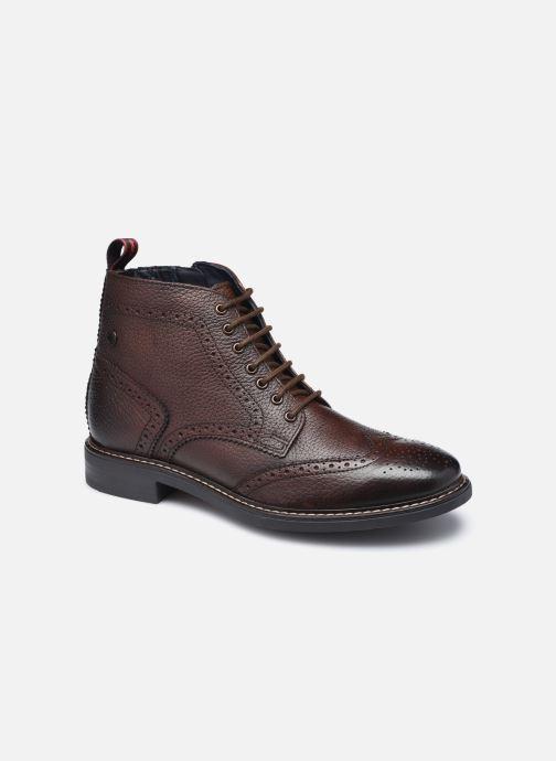 Boots en enkellaarsjes Base London BERKLEY Bruin detail