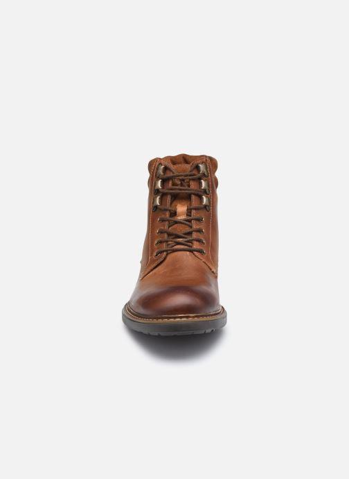 Stiefeletten & Boots Base London LIBERTY braun schuhe getragen
