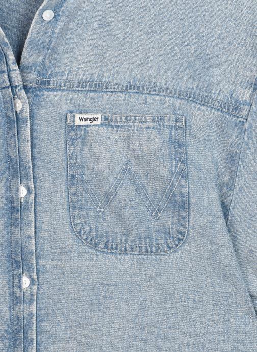 Vêtements Wrangler Summer Denim Dress Bleu vue face