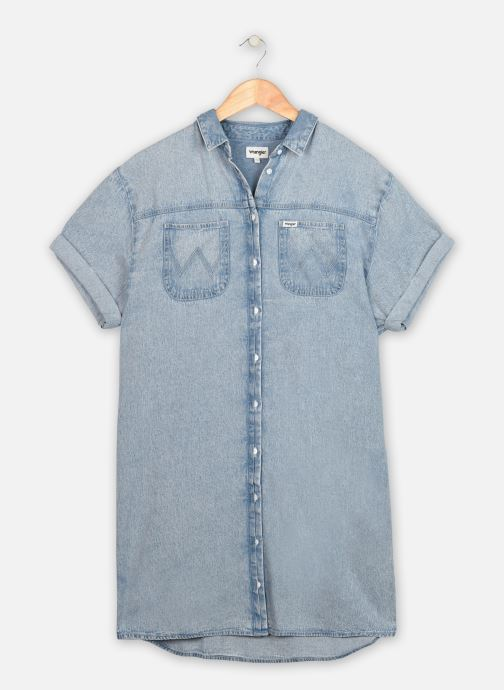 Vêtements Wrangler Summer Denim Dress Bleu vue détail/paire