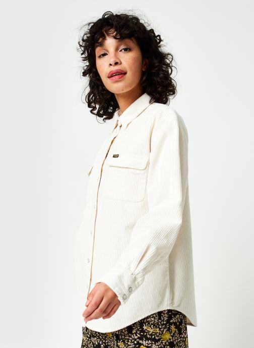 Vêtements Wrangler Chemise Blanc vue droite