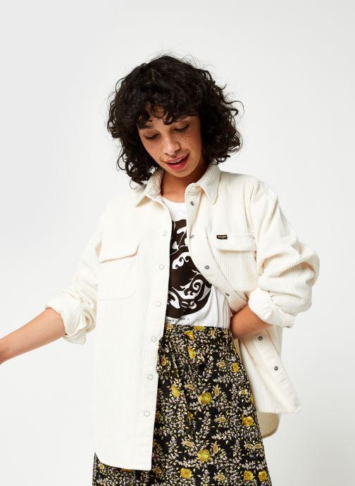 Vêtements Wrangler Chemise Blanc vue détail/paire