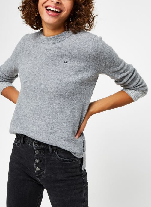 Pull - Fluffy Crew Neck Sweater