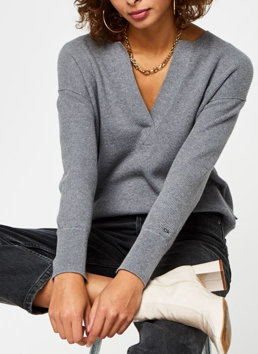 Pull - Open Neck Sweater